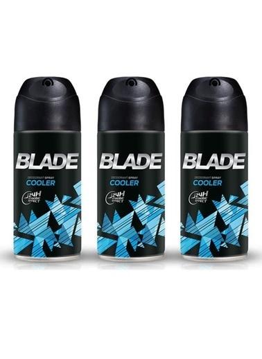 Blade Blade Cooler Erkek Deodorant 150 Ml X 3 Adet Renksiz